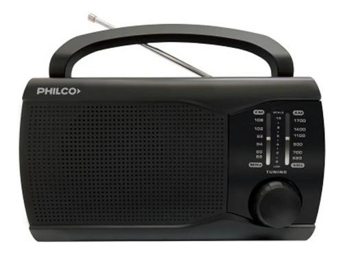 Imagen 1 de 4 de Philco Prm60 Radio Dual Am-fm Pilas Electrica