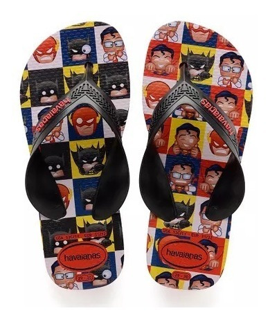 Havaianas Kids Max Herois (superman E Batman)