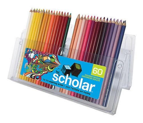 ¡ Prismacolor Scholar 60u Caja De - Unidad a $2567
