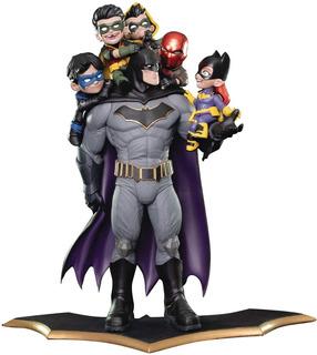 Batman Family Q-master Diorama Estatua Dc Comics Toylover