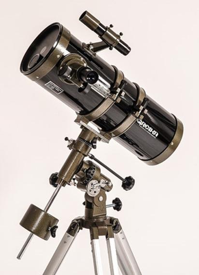 Telescópio Equatorial Newtoniano 1400x150mm Greika Amp.2100x