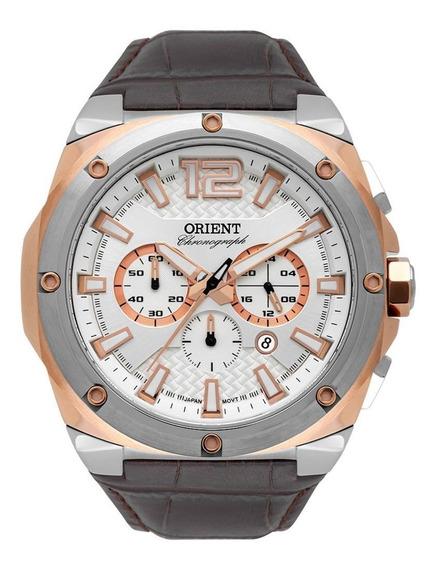 Relógio Masculino Eternal Cronógrafo Orient Mtscc032 S2nx