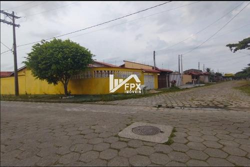 Imagem 1 de 14 de Casa Em Itanhaém, Lado Praia Á 350 Metros Do Mar Ca298