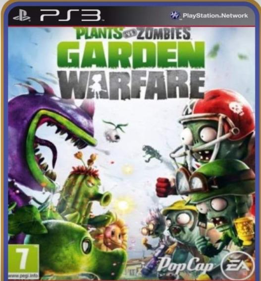 Plants Vs Zombies Ps3 Play 3 Jogo Em Oferta Comprar