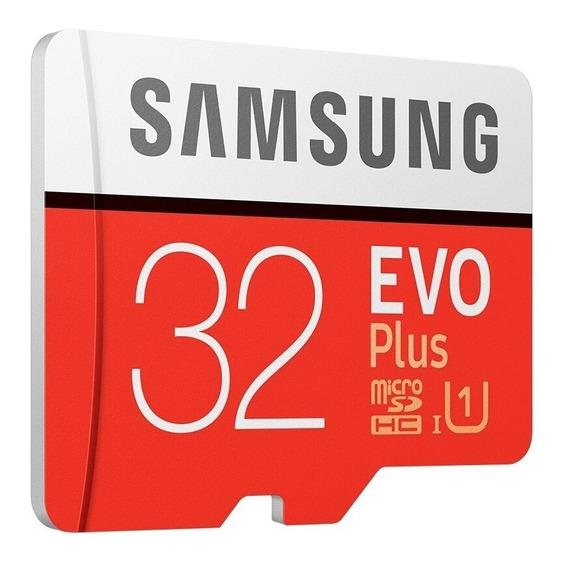 Cartão De Memoria Micro Sd 32gb Samsung Evo Plus Classe 10