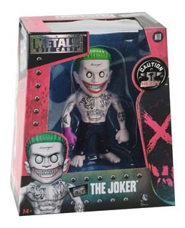 Suicide Squad The Joker Figura Muñeco Metal Die Cast 10 Cm