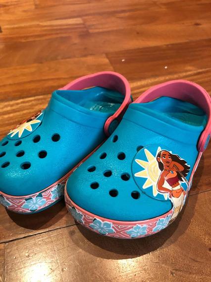 Crocs Con Luces Moana
