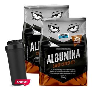 Albumina 1000g - Proteína Pura - Vários Sabores