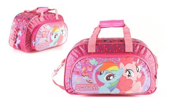 Bolso Pony Unicornio Con Bolsillo De Frente Original!!