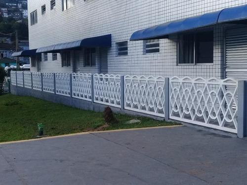 Kitnet Com 1 Dormitório Para Alugar, 34 M² Por R$ 1.000,00/mês - Morro De Nova Cintra - Santos/sp - Kn0209