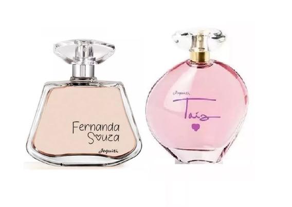 Combo Perfumes Femininos Jequiti: Fernanda Souza + Taís
