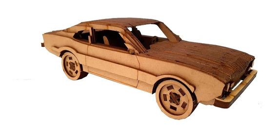 Brinquedos Carros Mdf Crú Montados Kombi Fusca Maveric Civic