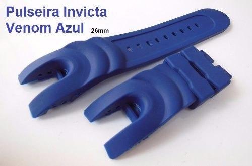 Pulseira Invicta Venom 16148 16149 14465 6112 5733 1404 Azul