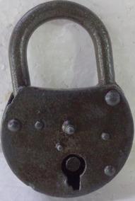 Cadeado Antigo Sem Chave Pronta Entrega 10 X 7 Cm