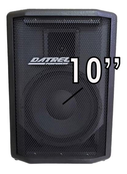 Caixa De Som Ativa 10 200w Rms Datrel Usb Bluetooth