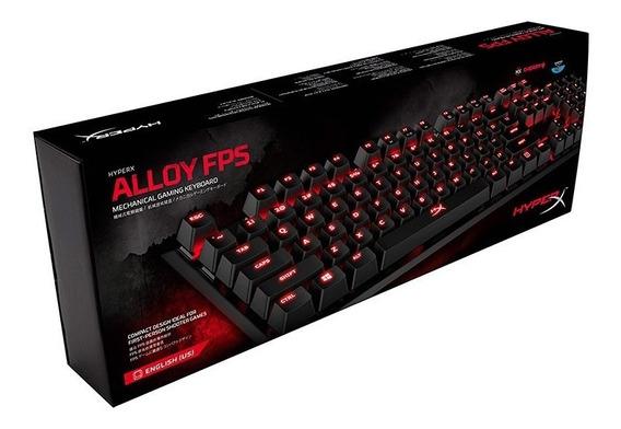 Hyper X Teclado Mecánico Gaming Alloy Negro Hx-kb1bl1-la/a4