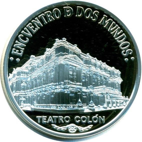 Spg Argentina 25 Pesos 2005 Encuentro Dos Mundos Colon