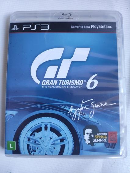 Gran Turismo 6 Ps3 Midia Física Semi Novo Original