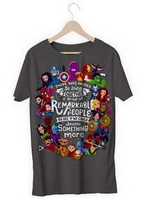 Camisa Camiseta Avengers Vingadores Marvel Herois Notáveis