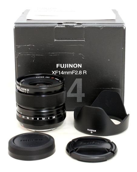 Lente Fuji Fujifilm Xf 14mm F/2.8 R