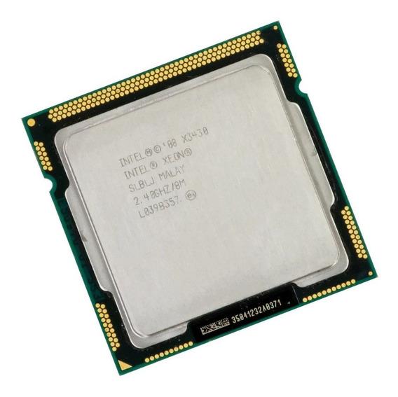 Procesador Intel Xeon X3430 2.4ghz Quad Core 8mb Lga 1156