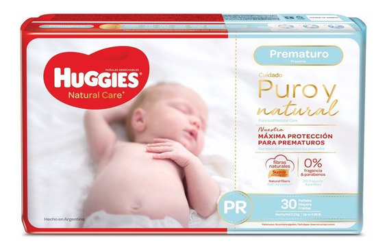 Pañal Huggies Supreme Prematuro 30 Pzas.