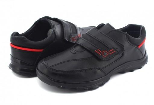 Zapato Escolaryuyin 77501 Negro 15-17 Niños