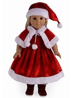 Tianbo 3pc Christmas Red Color, Incluidos Los Vestidos Del C