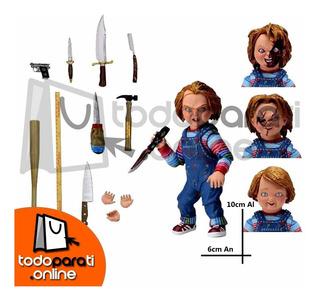 Muñeco Terror Good Guys Chucky 16 Accesorios