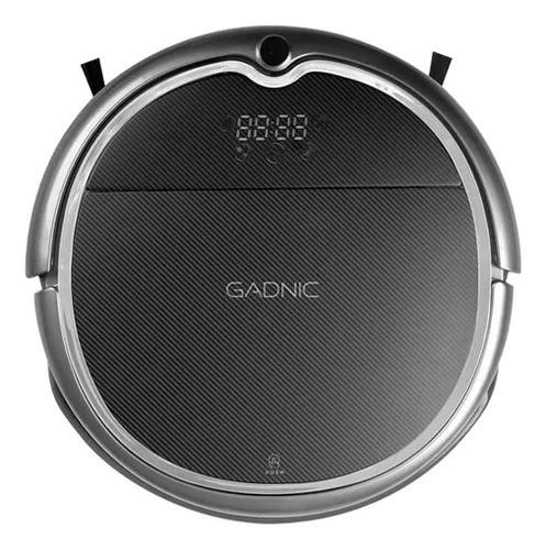 Imagen 1 de 2 de Aspiradora trapeadora robot Gadnic Clean Duo Z850 negra 100V/240V