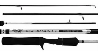 Vara Para Carretilha Albatroz New Diamond C 562 Carbono 1,68