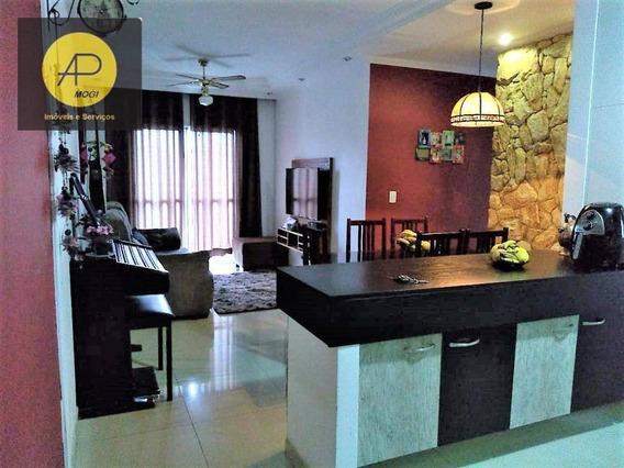 Apartamento Residencial À Venda, Mogi Moderno, Mogi Das Cruzes. - Ap0144