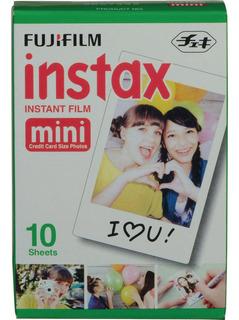Papel Instantáneo Film Fuji Instax Mini - 10 Unidades