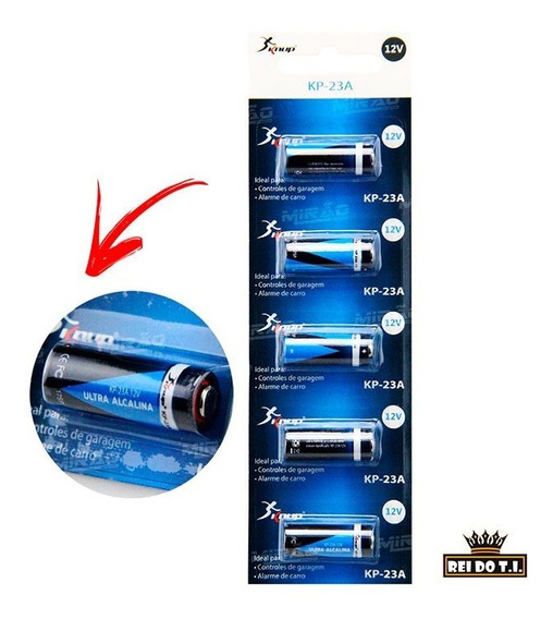 Bateria Ultra Alcalina 12v Cartela Com 5 Un. Kp-23a