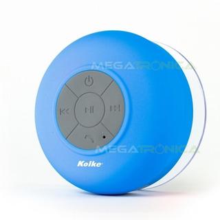 Parlante Bluetooth Kolke Baño Resistente Agua Manos Libres