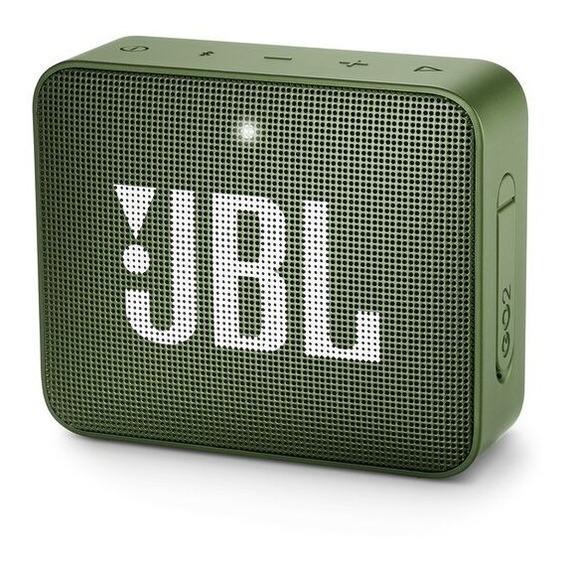 Caixa De Som Jbl Go 2 Portátil Sem Fio Verde