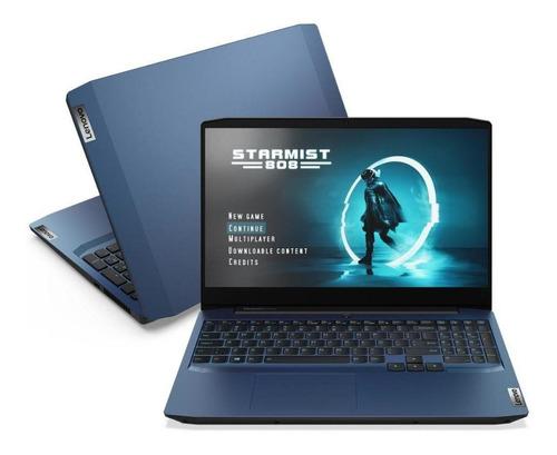 Imagem 1 de 5 de Notebook Lenovo Gaming 3i I7 16gb 512 Ssd Gtx1650 4gb W10