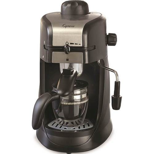 Cafetera Espresso Capresso Vapor Pro 4 Tazas- Negro/ Acero