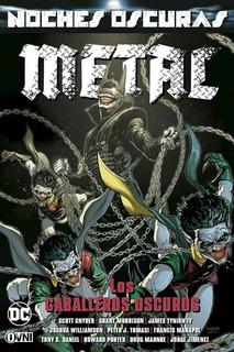 Cómic, Dc, Noches Oscuras Metal Vol 3 Los Caballeros Oscuros