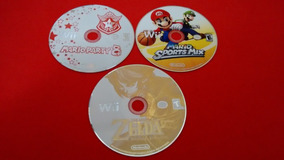 Mario Party 8 Zelda Mario Sports Mix Nintendo Wii Original
