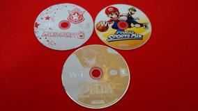 Lote 3 Jogos Mario Party Zelda Mario Sports Nintendo Wii