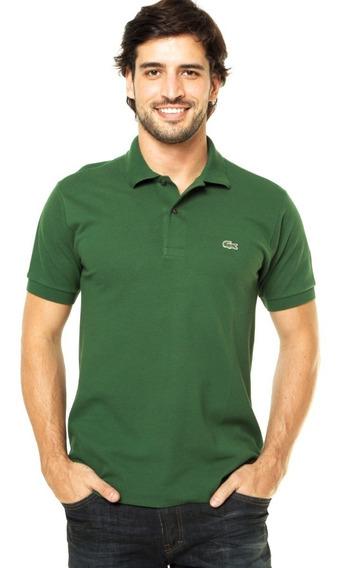 Camisa Polo Lacoste Slim Fly Verde