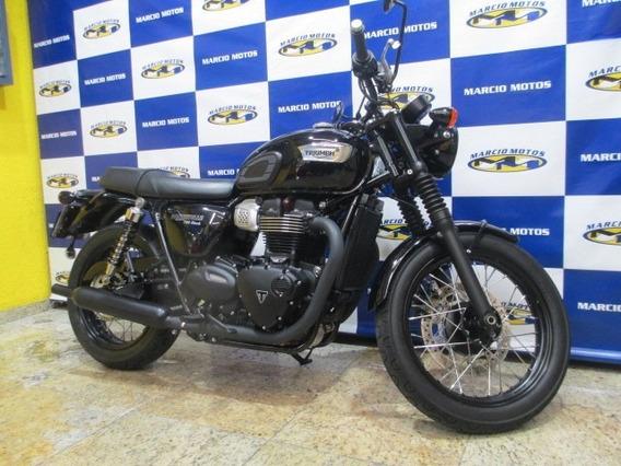 Triumph Bonnevile T100 Black 19/19