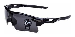 Óculos Ciclista Esporte Ciclismo Uv 400 Preto