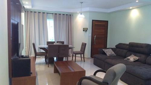 Sobrado  Residencial À Venda, Vila Alto De Santo André, Santo André. - So0411