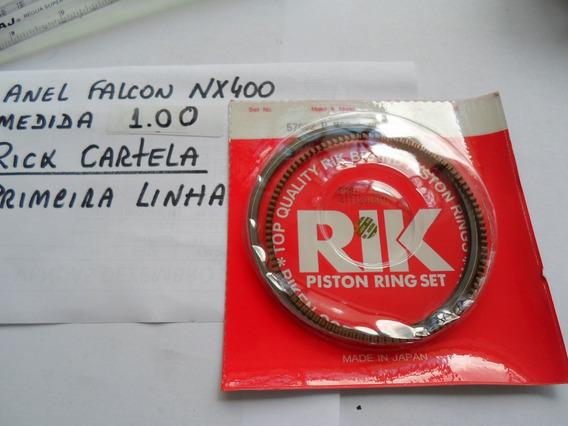 Anel De Segmento (pistão) Nx400 Falcon 1,00mm Rik Cartela