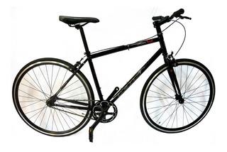 Bicicleta Fixie Urbana City Urban Soul Khs Negra