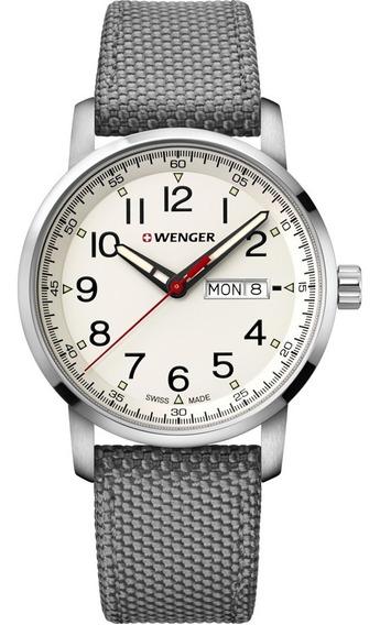 Relógio Masculino Suíço Wenger Linha Atitude Heritage 42mm