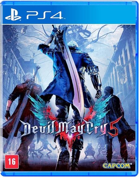 Devil May Cry 5 (dmc 5) - Ps4 -mídia Fisica