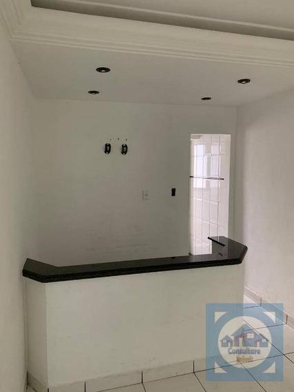 Sala Para Alugar, 103 M² Por R$ 2.000,00/mês - Itararé - São Vicente/sp - Sa0126